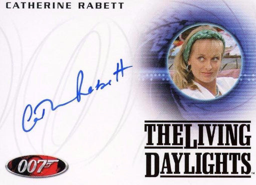 James Bond 50th Anniversary Series One Catherine Rabett Autograph Card A168   - TvMovieCards.com