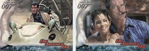 James Bond Die Another Day Promo Card Set P1 and P2   - TvMovieCards.com