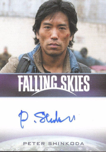 Falling Skies Season 2 Premium Pack Peter Shinkoda Autograph Card