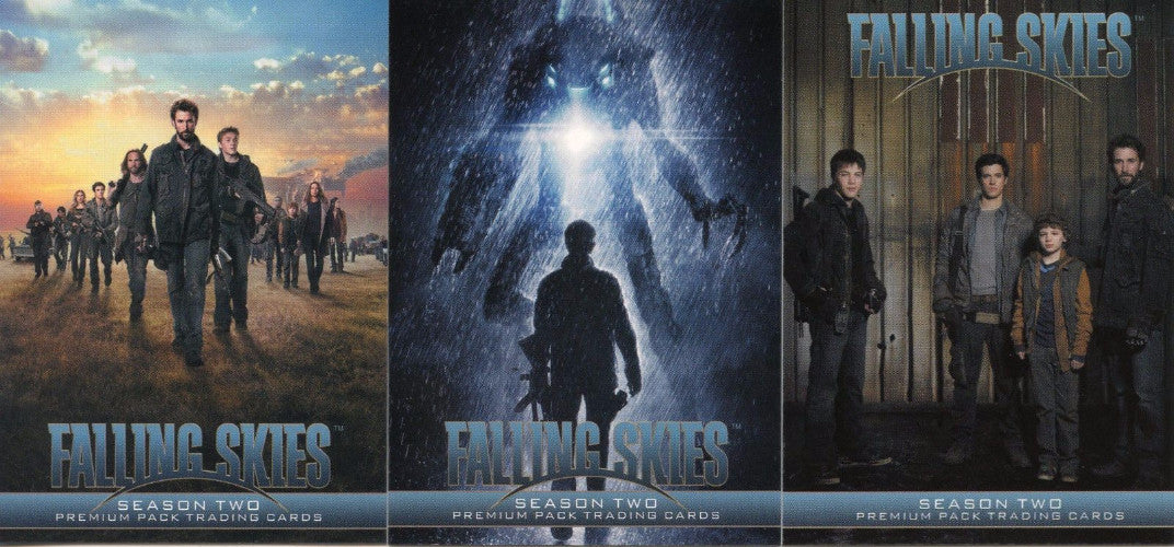 Falling Skies Season 2 Premium Pack Promo Card Set P1 P2 P3