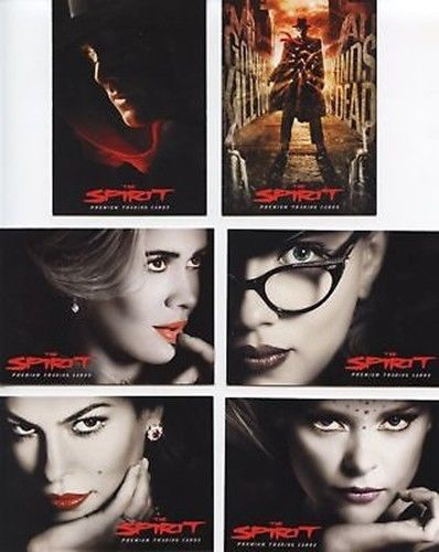 Spirit The Spirit Promo Card Set 6 Cards   - TvMovieCards.com