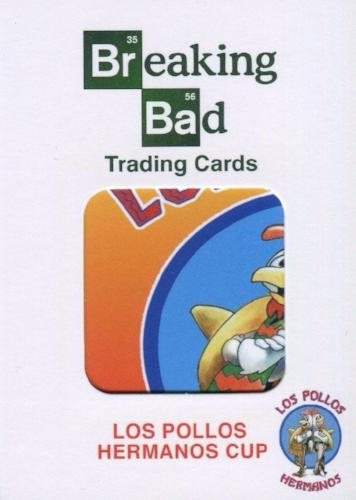 Breaking Bad Seasons 1-5 Los Pollos Hermanos Cup Walter White Prop Card PC-01   - TvMovieCards.com
