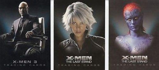 X-Men Movies Promo Card Lot 3 Cards   - TvMovieCards.com