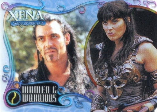 Xena Art & Images Women and Warriors Cell Chase Card WW3 #004/500   - TvMovieCards.com