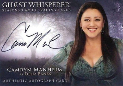 Ghost Whisperer Seasons 3 & 4 Camryn Manheim as Delia Banks Autograph Card   - TvMovieCards.com