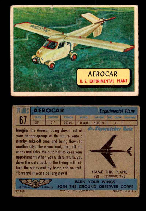 1957 Planes Series II Topps Vintage Card You Pick Singles #61-120 #67  - TvMovieCards.com