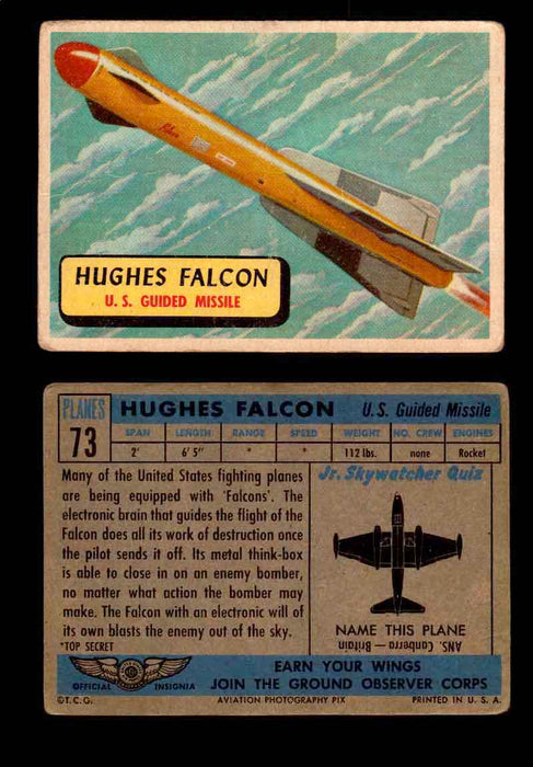 1957 Planes Series II Topps Vintage Card You Pick Singles #61-120 #73  - TvMovieCards.com