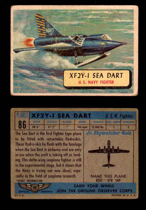 1957 Planes Series II Topps Vintage Card You Pick Singles #61-120 #86  - TvMovieCards.com