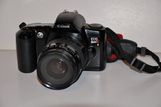 Canon EOS Rebel XS 35mm Film Camera w/ Canon EF 35-80mm f/4-5.6 II Zoom Lens   - TvMovieCards.com