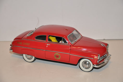 DANBURY MINT 1:24 Diecast Model Car 1949 Mercury Fire Chief's Car   - TvMovieCards.com