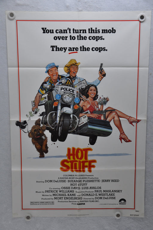 1979 Hot Stuff Original 1SH Movie Poster 27 x 41 Dom DeLuise, Suzanne Pleshette, Jerry Reed