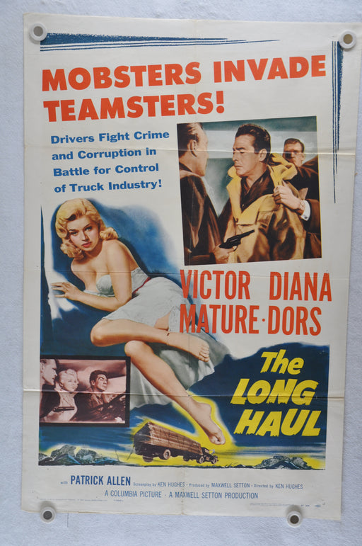 1957 The Long Haul Original 1SH Movie Poster Victor Mature Diana Dors Crime Noir   - TvMovieCards.com