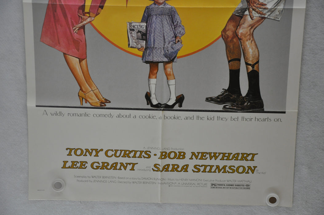 1980 Little Miss Marker Original 1SH Movie Poster 27 x 41 Matthau Julie Andrews   - TvMovieCards.com