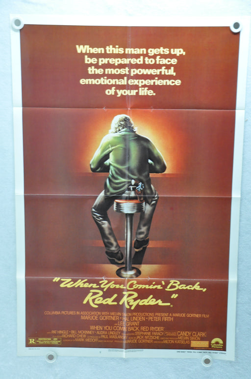 1979 When You Comin' Back, Red Ryder? Original 1SH Movie Poster 27 x 41