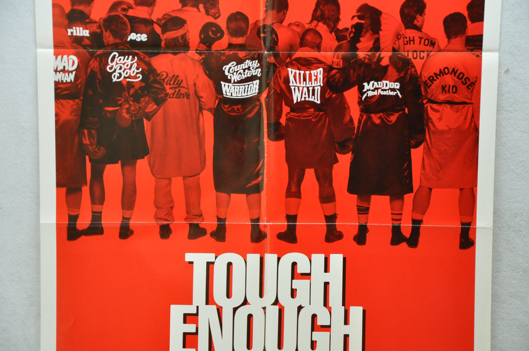 1983 Tough Enough Original 1SH Movie Poster 27 x 41 Dennis Quaid Carlene Watkins   - TvMovieCards.com