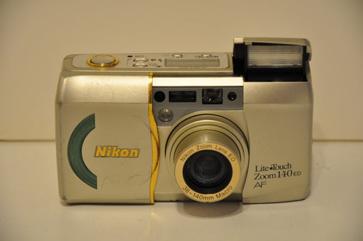 Nikon Lite Touch Zoom 140 ED AF Lens w/ Panorama Point & Shoot Camera - Tested   - TvMovieCards.com