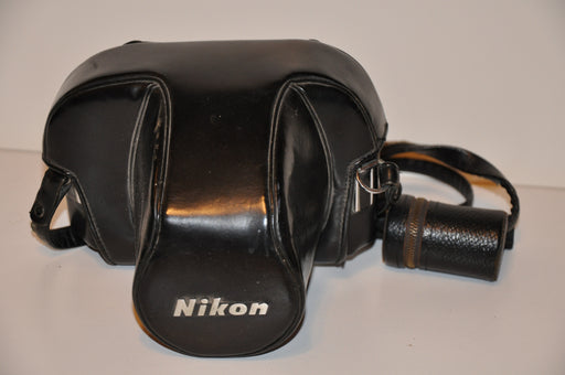 Vintage Nikon CH-1 Black Leather Camera Case for F2 Series 35mm Cameras F2S F2SB   - TvMovieCards.com