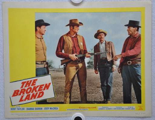 The Broken Land 1962 Lobby Card #7 Movie Poster Kent Taylor, Diana Darrin   - TvMovieCards.com