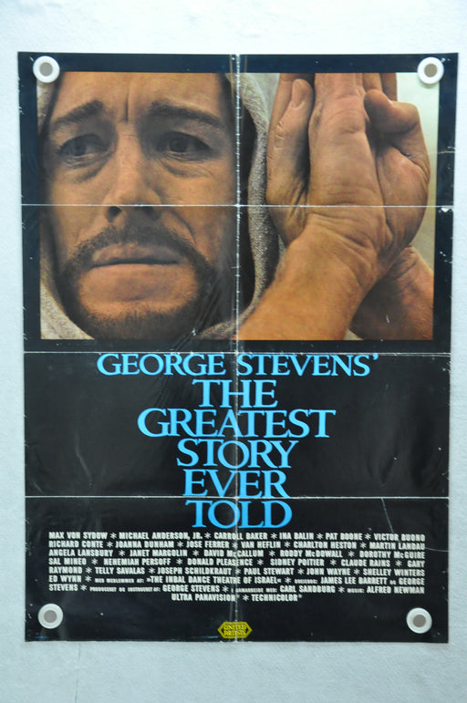1965 George Steven's The Greatest Story Ever Told Original Movie Poster Reprint?