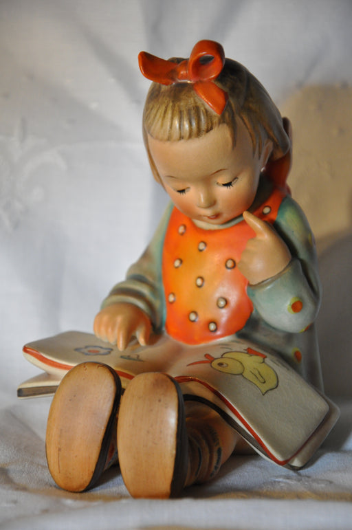 "Goebel Hummel Figurine # 3/1 ""Book Worm"" TMK3 6"" Large   - TvMovieCards.com"