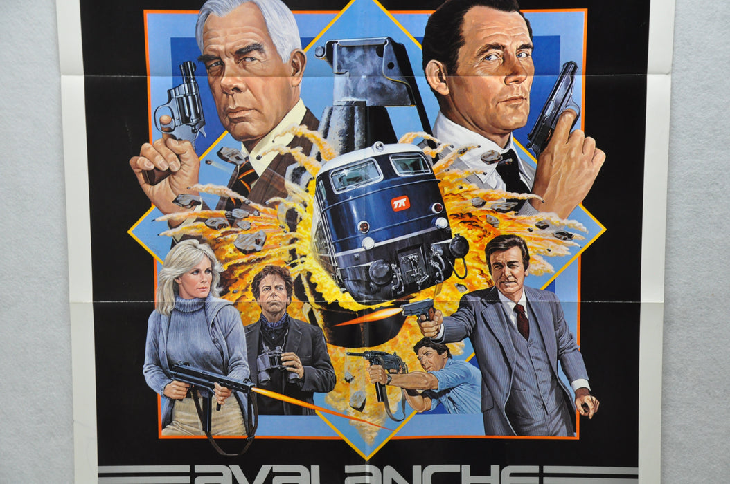 1979 Avalanche Express Original 1SH Movie Poster 27 x 41 Lee Marvin, Robert Shaw   - TvMovieCards.com