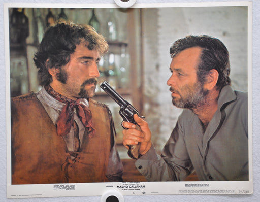 Macho Callahan Lobby Card 1970 Movie Poster David Janssen Jean Seberg Lee J Cobb   - TvMovieCards.com