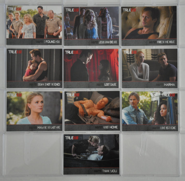 True Blood Season 7 Collector's Trading Base Card Set 10 Cards   - TvMovieCards.com