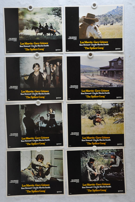1974 The Spikes Gang Lobby Card Set of 8 11 x 14 Lee Marvin Ron Howard   - TvMovieCards.com