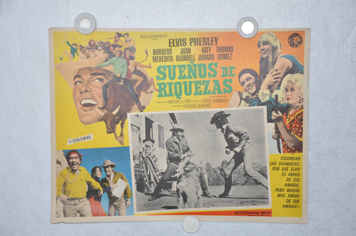 Stay Away Joe 1968 Mexican Lobby Card Movie Poster Elvis Presley   - TvMovieCards.com