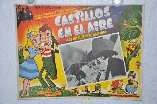 Castillos En El Aire 1938 Mexican Lobby Card Movie Poster Dave Fleischer Cartoon   - TvMovieCards.com