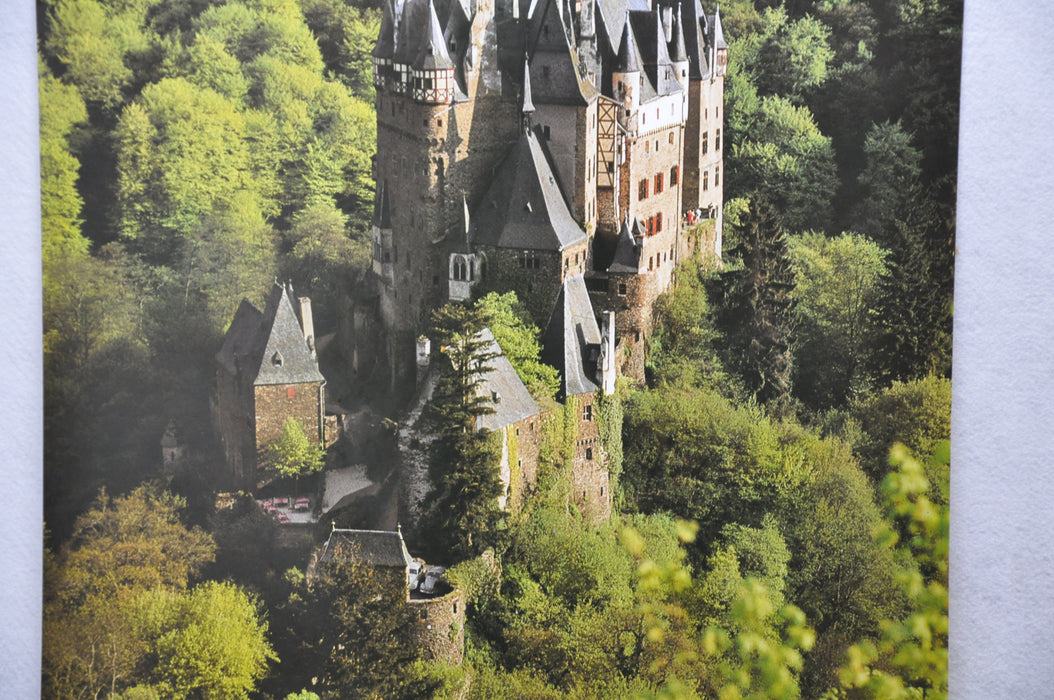 "Vintage 1970s Federal Republic of Germany Castle Tourism Travel Poster 23"" x 33""   - TvMovieCards.com"