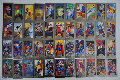 Superman Premium Embossed Widevision Card Set 90 Cards   - TvMovieCards.com