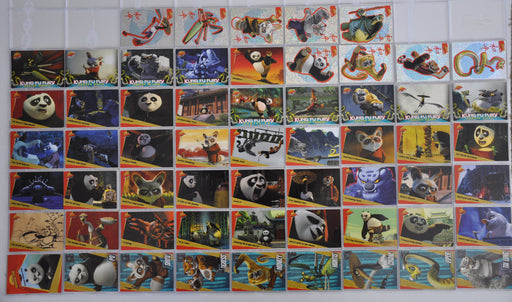 Kung Fu Panda Movie Base Card Set 50 Cards plus 9 Sticker Cards   - TvMovieCards.com