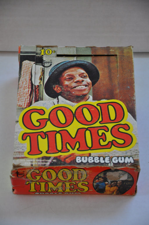 1975 Topps Good Times Empty Bubble Gum Vintage Trading Card Box   - TvMovieCards.com