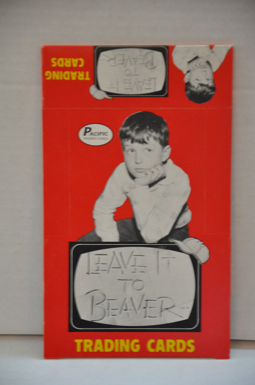 1983 Pacific Leave it to Beaver Empty Bubble Gum Vintage Trading Card Box   - TvMovieCards.com