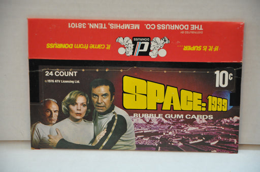 1976 Donruss Space: 1999 Empty Bubble Gum Vintage Trading Card Box   - TvMovieCards.com