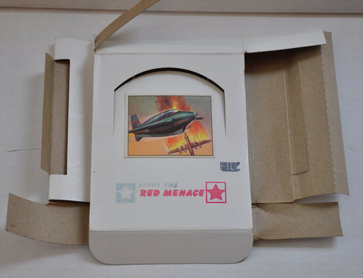 1985 FTCC Fight the Red Menace Empty Vintage Trading Card Box   - TvMovieCards.com