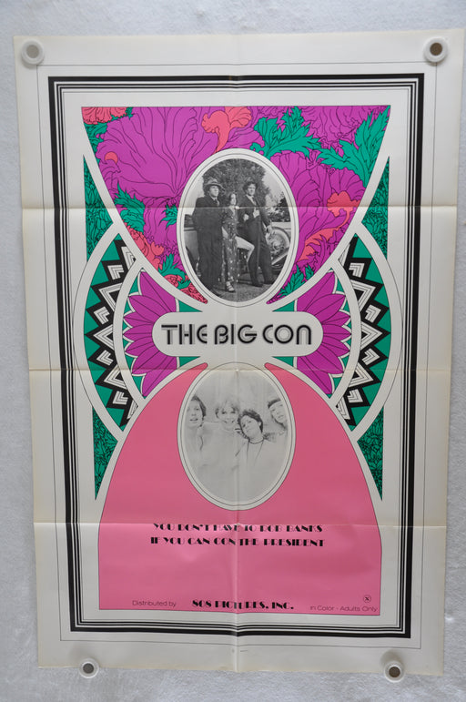 1975 The Big Con Original 1SH Movie Poster Jennifer Jordan, Harding Harrison, Eric Edwards   - TvMovieCards.com