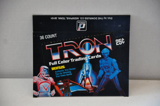 1982 Donruss Tron Empty Bubble Gum Vintage Trading Card Box   - TvMovieCards.com