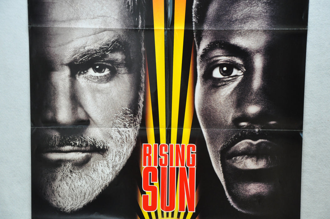 1993 Rising Sun Original 1SH D/S Movie Poster 27 x 41 Sean Connery Wesley Snipes   - TvMovieCards.com