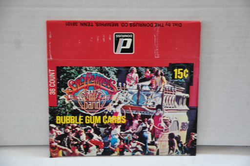 1978 SGT. Peppers Lonely Hearts Club Band Empty Bubble Gum Trading Card Box   - TvMovieCards.com