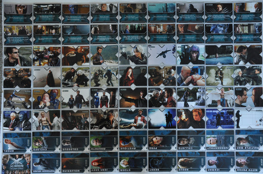 X-Men The Last Stand Rittenhouse - 2006 Trading Base Card Set 72 Cards   - TvMovieCards.com