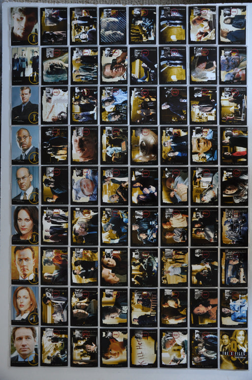 The X-Files: Season 9 Inkworks - 2003 Trading Base Card Set 72 Cards   - TvMovieCards.com
