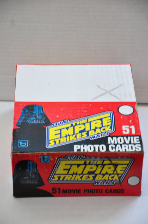 1980 Topps Empire Strikes Back Empty Movie Photo Trading Card Box   - TvMovieCards.com