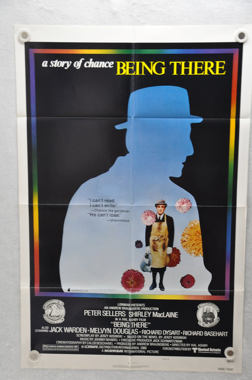 1979 Being There Original 1SH Movie Poster 27 x 41  Peter Sellers Last Movie   - TvMovieCards.com