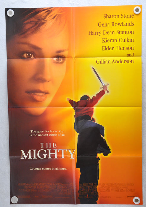 1998 The Mighty 1SH D/S Movie Poster 27 x 41  Kieran Culkin Elden Henson   - TvMovieCards.com