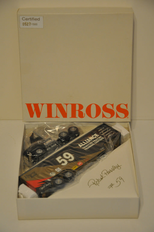 1994 Alliance Racing Robert Pressley Winross Diecast Drop Bed Trailer Truck   - TvMovieCards.com