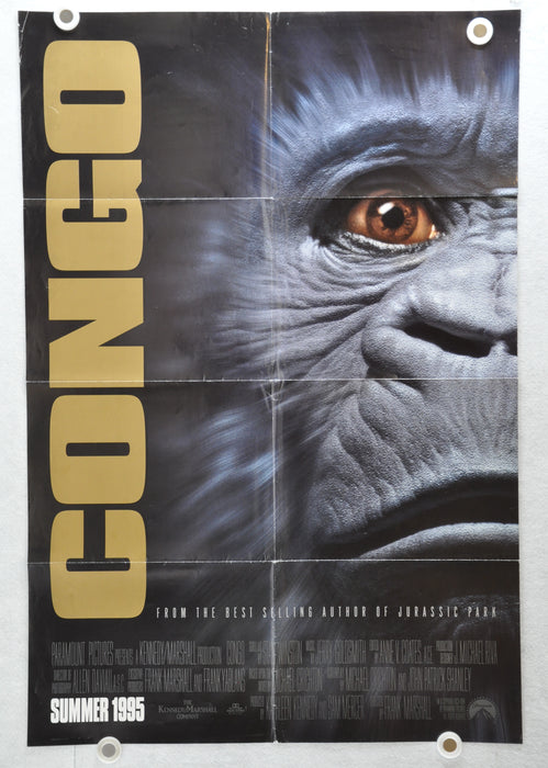 1995 Congo Original 1SH Movie Poster 27 x 41 Laura Linney Tim Curry Dylan Walsh   - TvMovieCards.com