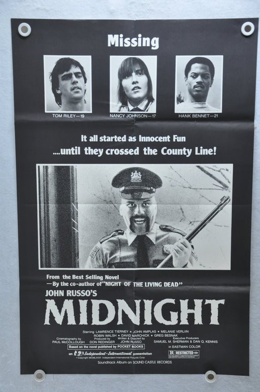 1982 John Russo's Midnight Original 1SH Movie Poster 27 x 41 Melanie Verlin   - TvMovieCards.com