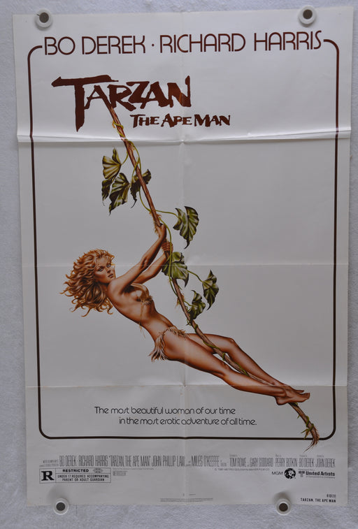 1981 Tarzan The Ape Man Original 1SH Movie Poster 27x41 Bo Derek Richard Harris   - TvMovieCards.com